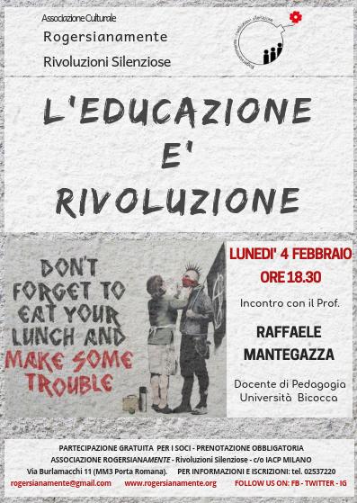 l'educazione è rivoluzione